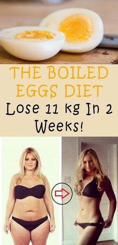 The Boiled Eggs Diet Lose 11 Kg In 2 Weeks.