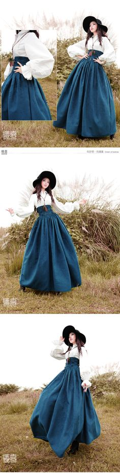 Free Shipping 2015 New Vintage High Waist Long Maxi A line Plus Size Royal Design Women Winter Suede Bandage Skirts With Big Hem-in Skirts from Women's Clothing & Accessories on Aliexpress.com   Alibaba Group