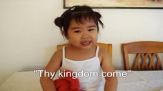 She May Only Be 2-Years-Old But She Already Knows How To Praise Our Lord!