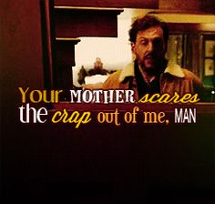 Hey Nick, your mother...