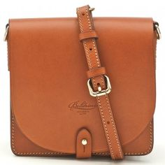 Boldrini Small Flap Cross Body Bag | Hunt Leather