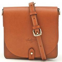 Boldrini Small Flap Cross Body Bag | Hunt Leather