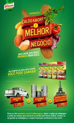 Caldo Knorr é Melhor Negócio on Behance