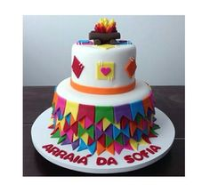 Bolo Elsa, Holidays And Events, Pasta, Biscuits, Cake Decorating, Birthday Cake, Cupcakes, Bolo Fake, America 2