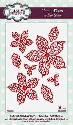 PartiCraft (Participate In Craft): Filigree Poinsettia