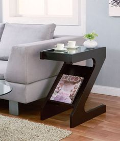 Best 12 Furniture Of America Gildun Glass Top Magazine Rack End Table Cappuccino Based in California, Furniture of America has spent more than 20 years establishing itself as a premier provider of fine home furnishings to urban-minded shoppers. The people Apartment Furniture, Home Decor Furniture, Table Furniture, Living Room Furniture, Home Furnishings, Modern Furniture, Furniture Design, Rustic Furniture, Furniture Movers
