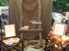 "for corporate prayer station - a ""prayer loom"" (This example asks folks to write sth about the character of God.)"