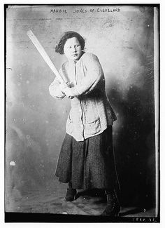 Maggie Jones of Cleveland [baseball]1911 Sept. 18.