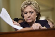 Here Are Hillary Clinton's Many Facial Expressions During Her Benghazi Committee Testimony