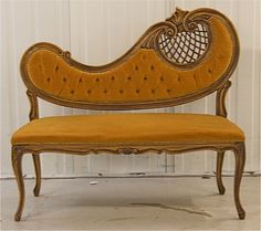 curved telephone couch