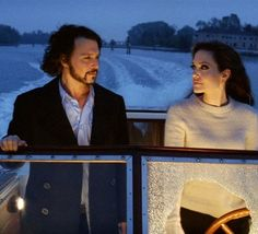 Johnny Depp & Angelina Jolie- The Tourist