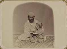 First lessons. [between 1865 and 1872].  Library of Congress Prints and Photographs Division.