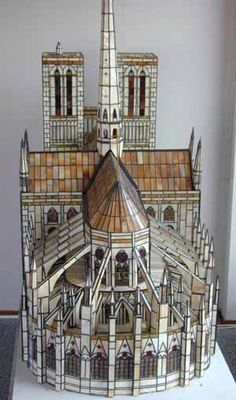 """Talk about """"Cathedral Stained Glass""""... We can't even begin to imagine how many man/woman hours it took to produce this! Thanks Spectrum Glass! http://www.spectrumglass.com/stained-glass/galleries/gallery-item-detail.asp?i=156"""