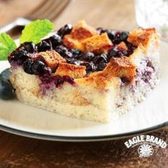 Blueberry Spiced Bread Pudding from Eagle Brand®