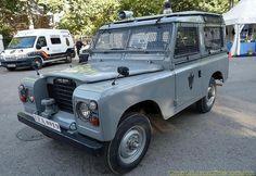 Land Rover Policía Armada