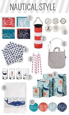 Nautical Style from Paper Source