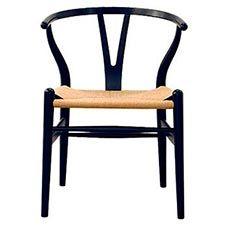 man får väl ta in en Wishbone också Wegner: Y-stol