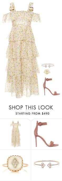 """""""Untitled #1209"""" by h1234l on Polyvore featuring AlexaChung, Gianvito Rossi and Pascale Monvoisin"""