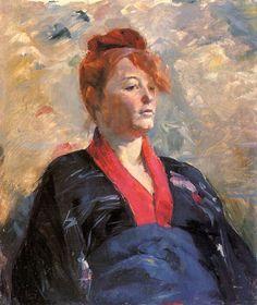 Madame Lili Grenier : Henri de Toulouse-Lautrec : Museum Art Images : Museuma