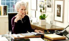 Meryl Streep as Miranda Priestly Miranda Priestly, Real Coffee, Devil Wears Prada, Happy Birthday To Us, Anna Wintour, Meryl Streep, Long Bob, Single Women, Editorial Photography