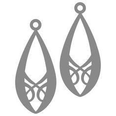 Jewelry Accessories For Saree . Jewelry Accessories For Saree Diy Leather Earrings, Diy Earrings, Leather Jewelry, Leather Craft, Laser Cut Jewelry, Silhouette Design, Silhouette Studio, Jewelry Packaging, Jewelry Patterns