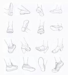 Foot angles