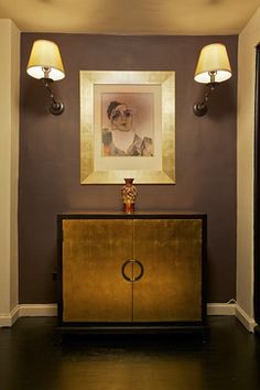 Deep Caviar (Marie Burgos): 101 MORE Favorite Benjamin Moore Paint Colors Paint Colors, Foyer Design, Decor, Room Wall Painting, Modern Foyer, Showcase Designs For Hall, Painted Bedroom Furniture, Purple Living Room, Home Furnishings