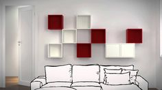 Discover the possibilities of VALJE wall cabinet - YouTube