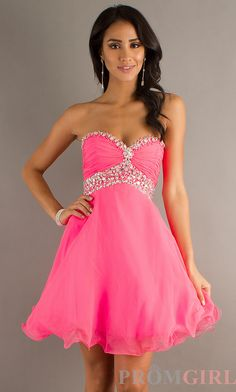 Super cute sparkly pink babydoll dress