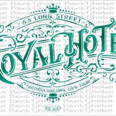 Royal Hotel A4-19 A4, Stencils, Painting, Painting Art, Paintings, Templates, Stenciling, Painted Canvas, Drawings