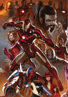 Iron Man by Marko Djurdjević