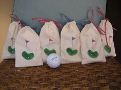 Tee Bags for Your Ladies' Golf Events