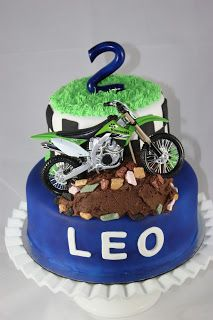 Sweet On You-Designer Cups & Cakes: Dirt Bike Cake