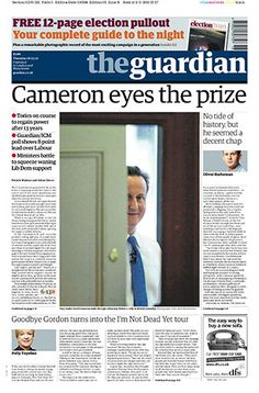 Cameron Eyes The Prize
