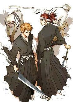 Bleach - Ichigo and Renji