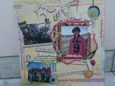 A made with love scrapbook for our best friend, Gladys. Good Luck girl ;-)