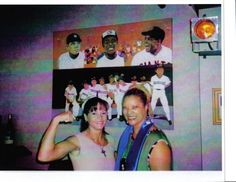 and Boxing Champ Jennifer Alcorn back drop JackieO.'s painting of Willie Mays.Babe Ruth and Henry Aaron Willie Mays, Babe Ruth, Champs, Boxing, Backdrops, Concert, Painting, Painting Art, Concerts
