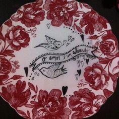 17/08/2012  Rita Wainer ilustrações em porcelanas antigas