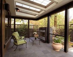 Pergola With Retractable Canopy Refferal: 4412172382 Pergola Attached To House, Deck With Pergola, Patio Roof, Diy Pergola, Pergola Kits, Backyard Patio, Outdoor Fireplace Patio, Outdoor Pavilion, Roof Architecture