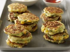These light, fluffy and delicious corn fritters are perfect picnic snacks.