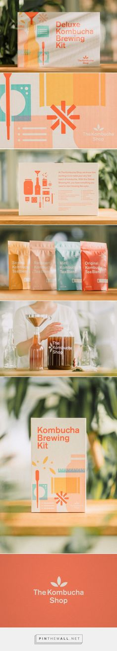 Check Out This Adorable DIY Kombucha Kit — The Dieline | Packaging & Branding Design & Innovation News... - a grouped images picture - Pin Them All