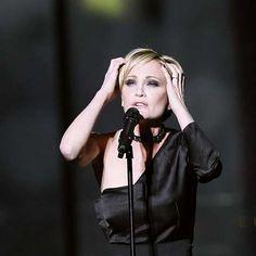 Patricia Kaas - 19ème place de l'Eurovision en 2009 (France) - Photo SARA JOHANNESSEN/SCANPIX NORVEGE/SIPA