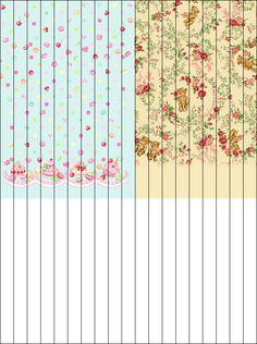 .:♡:World Sweet:♡:.: DIY:Lolita Themed Lucky Paper Star Patterns