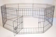 Eight Panel Portable (Foldable) Pet Dog Kennel