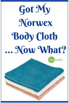 Learn how to swap out your traditional personal care products for just the Norwex Body Cloth and water! via @elesamarie #norwex #bodycloth #justaddwater #nosoap