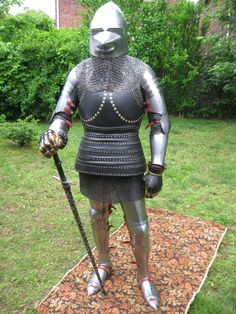 Wassonartistry.com's English Armor from the 1380s