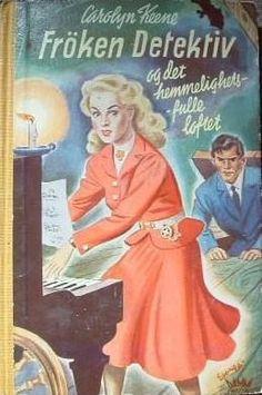 """""""Frøken detektiv og det hemmelighetsfulle loftet"""" av Carolyn Keene Disney Characters, Fictional Characters, Aurora Sleeping Beauty, Childhood, Disney Princess, Retro, Google, Books, Infancy"""