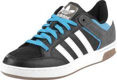 Adidas Varial Schuhe schwarz grau blau cyan