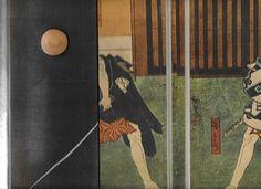 Inside cover Osaka Woodcuts.