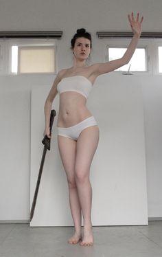 http://kxhara.deviantart.com model pose female full body mage battle